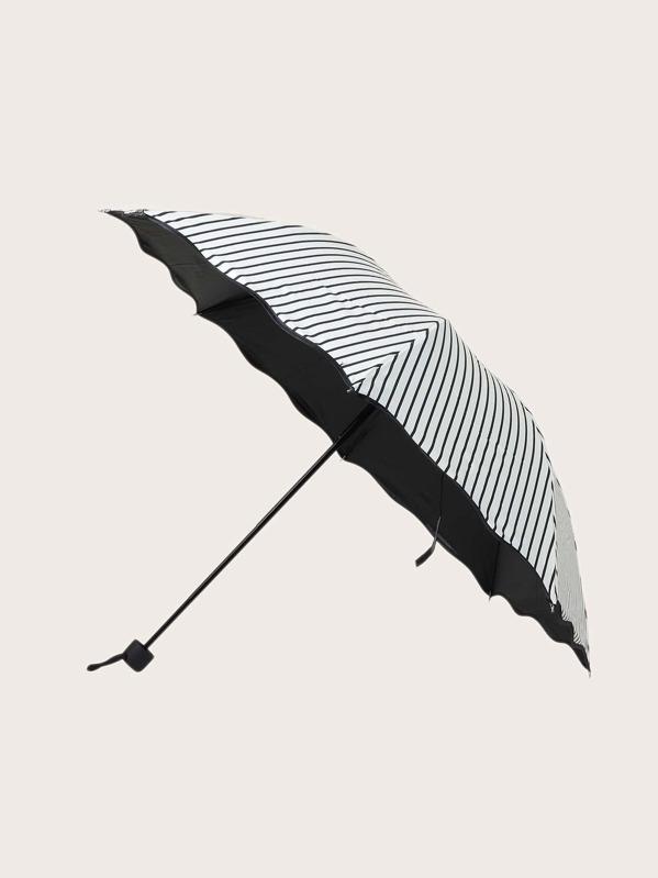 photograph regarding Umbrella Pattern Printable identified as Geometric Practice Print Umbrella