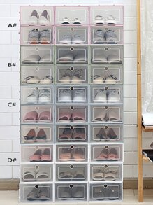 Rectangle Shoe Storage Box 1pc