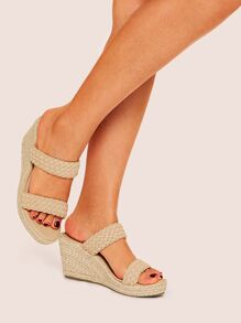 Braided Two Part Wedges