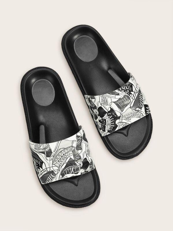 d7a167d233d6d5 Men Sandals & Flip Flops | SHEIN UK