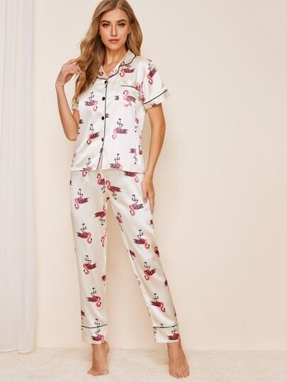 de5660239 Pajama Sets - Shop Pajama Sets for Women Online | SHEIN IN