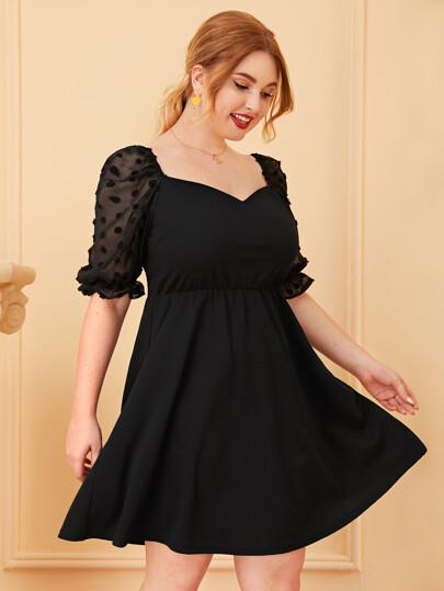 8a9c05e58b466 Women's Plus Size & Curvy Dresses | SHEIN