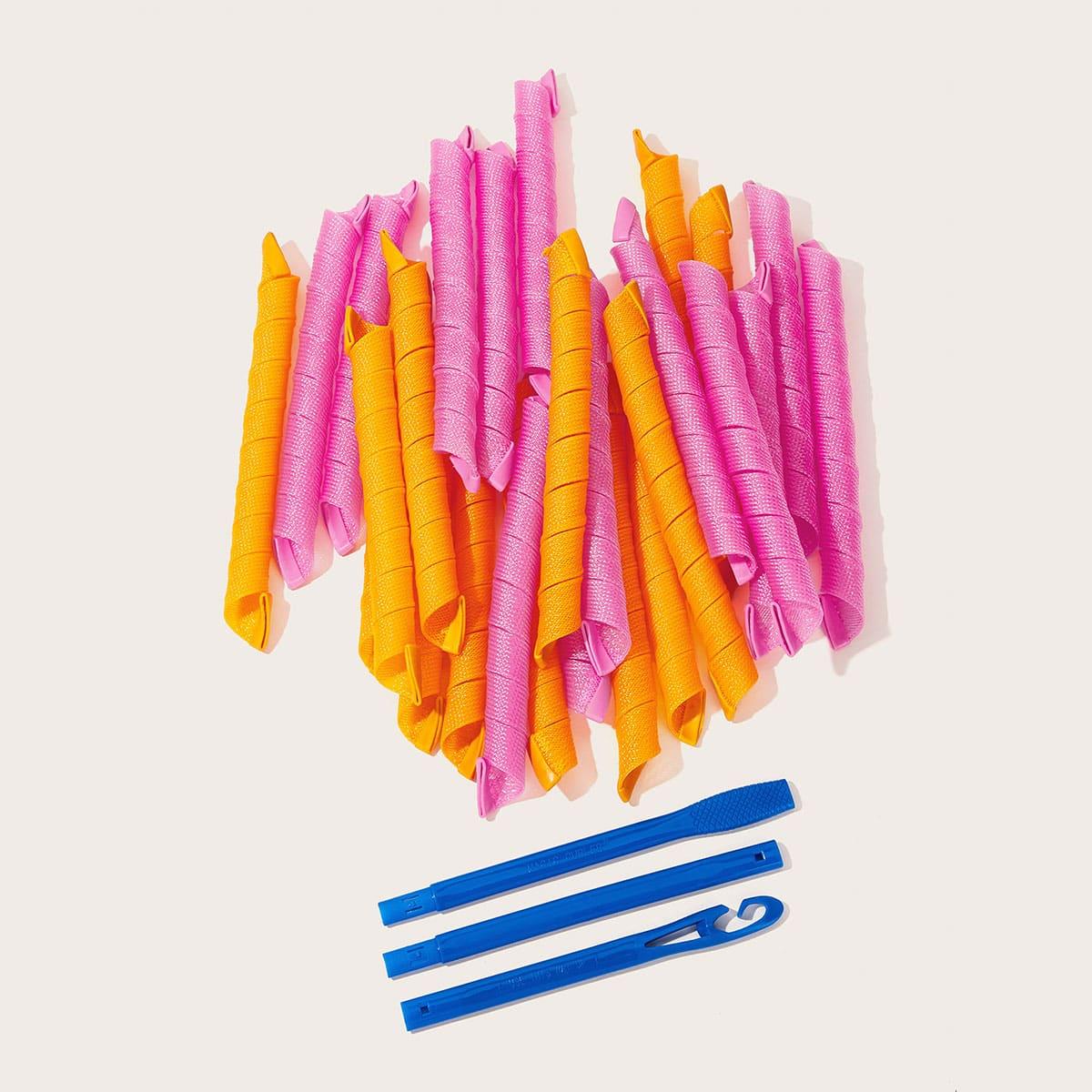 Разноцветные Бигуди 30 шт