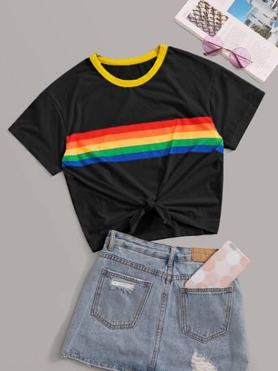 0d94c4e16f180 T-shirts & Tees | Stylish T-Shirts for Women | Best Selling Tops | ROMWE