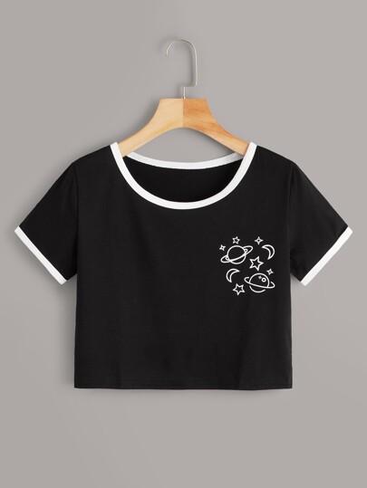 b6dd8f97 Camisetas de la temporada al mejor precio |SHEIN