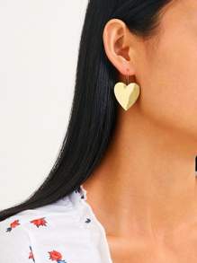 Heart Shaped Earrings 1pair