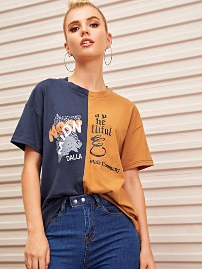 a8a1f23d5ec T-shirts & Tees | Stylish T-Shirts for Women | Best Selling Tops | ROMWE