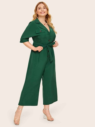3bf9515990 Women's Plus Size Jumpsuits & Rompers | SHEIN