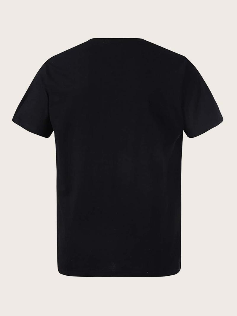 detailing 17033 4aee5 Männer T-Shirt mit Tier Muster und rundem Ausschnitt