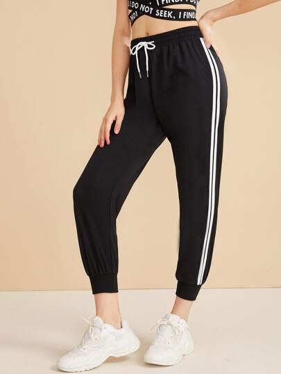 1bab2db91c Pants   Women's Pants   Trousers & Sweatpants   ROMWE