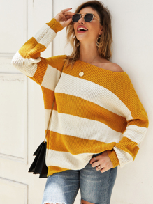 Crochet Cut And Sew Drop Shoulder Jumper