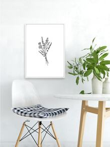 Simple Floral Wall Art Print