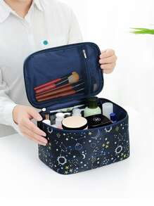 Starry Sky Print Cosmetic Storage Bag