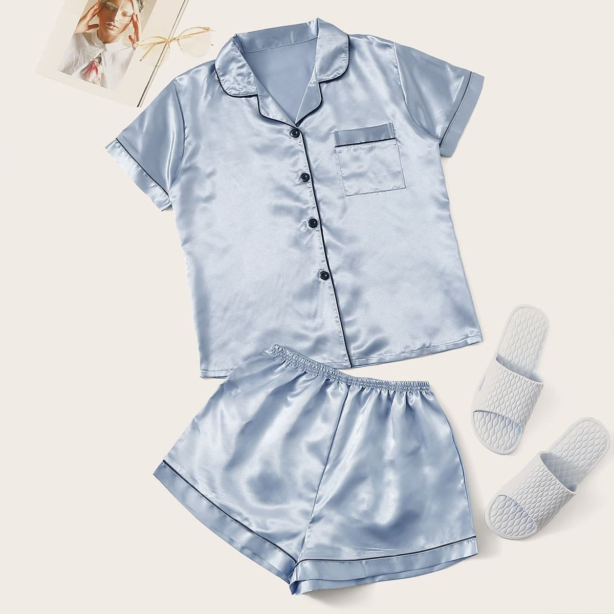 Комплект Пижамы С шортами