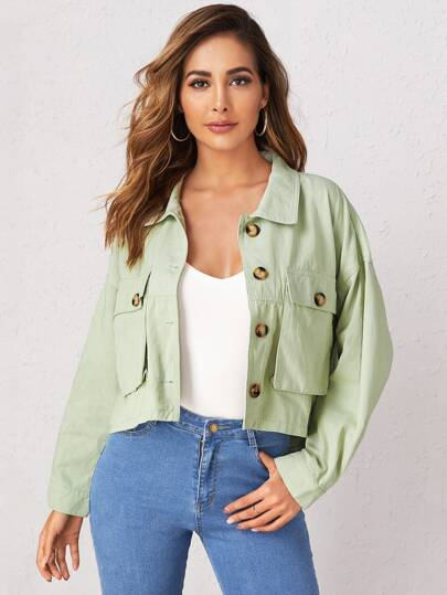 ddf8123f3 Denim Jackets, Shop Denim Jackets Online | SHEIN UK