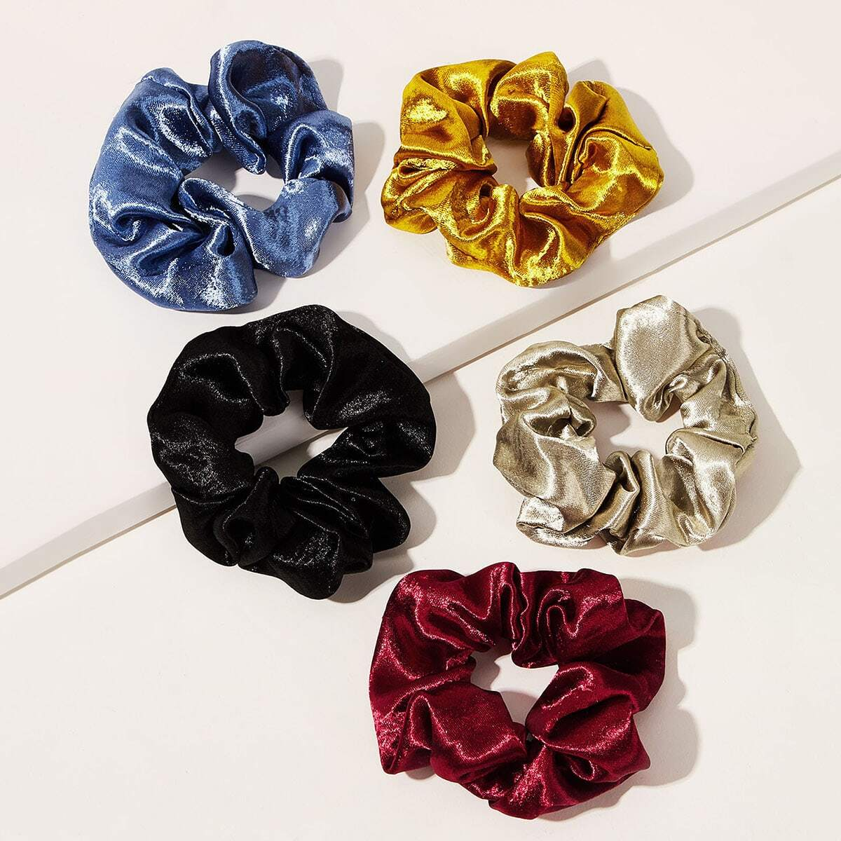 Simple Scrunchie 5pcs