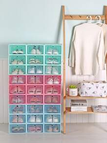 Transparent Shoes Storage Box 1pc