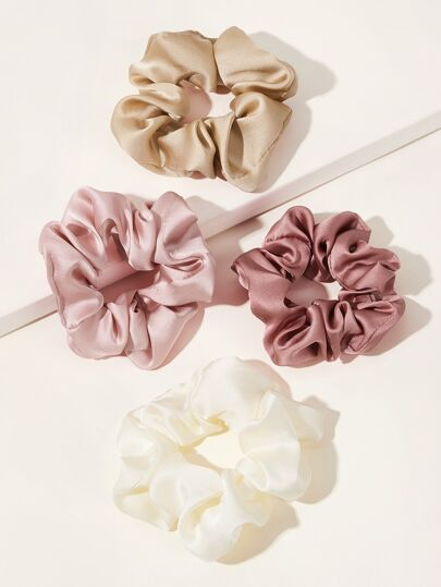 Simple Scrunchie 4pcs