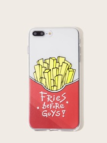 French Fries Pattern iPhone Case