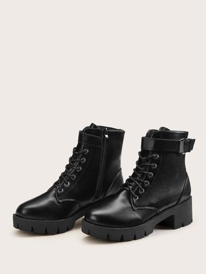 20e33a1b9c Boots, Shop Womens Boots Online India | SHEIN IN
