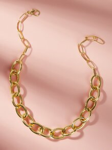 Minimalism Chain Necklace 1pc