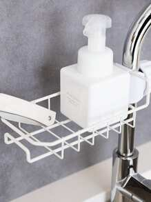 Stainless Steel Faucet Storage Rack 1pc