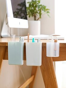Adhesive Desktop Storage Box 1pc