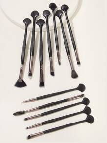 Shell Handle Eye Definer Brush 12pcs