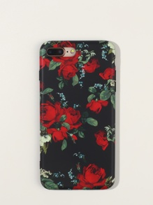 Rose Pattern iPhone Case