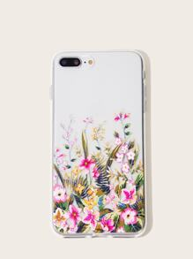 Flower Pattern iPhone Case