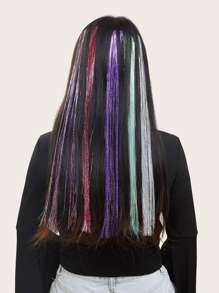 Glitter Hair Tinsel 5pcs