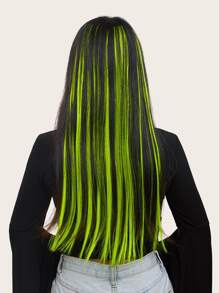 Neon Hair Tinsel 6pcs