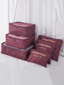 Travel Clothing Storage Bag Set 6pcs