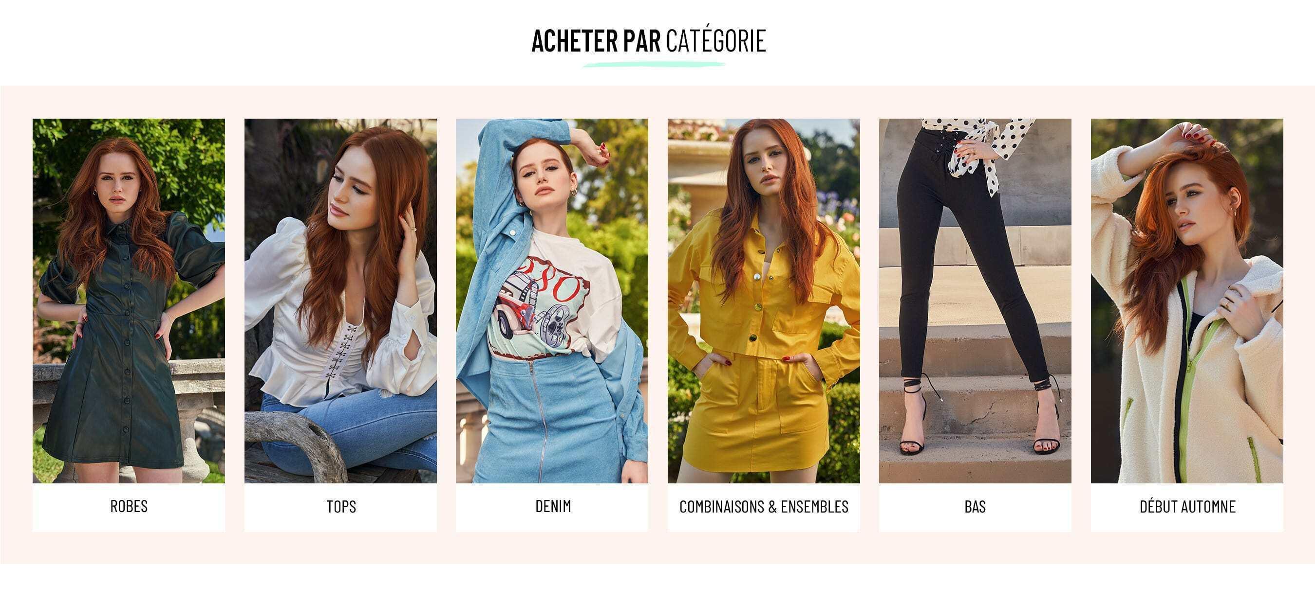 b113d0e8a12df3 Mode Femme | Vêtements Femme En Ligne à Bon Prix | SHEIN