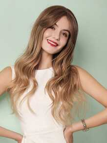 Natural Ombre Long Curly Wig