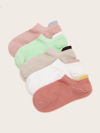 Simple Ankle Socks 5pairs