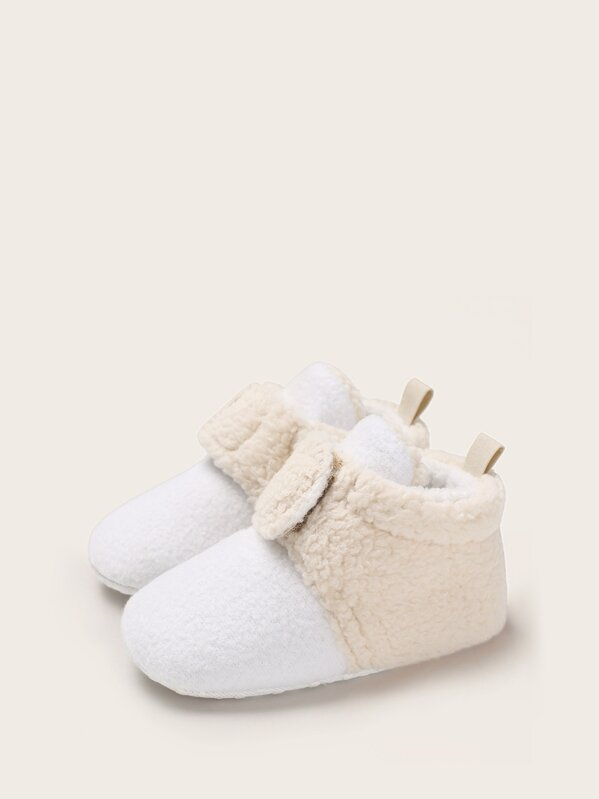 top-rated quality enjoy bottom price retro Girls Two Tone Fluffy Ankle Boots