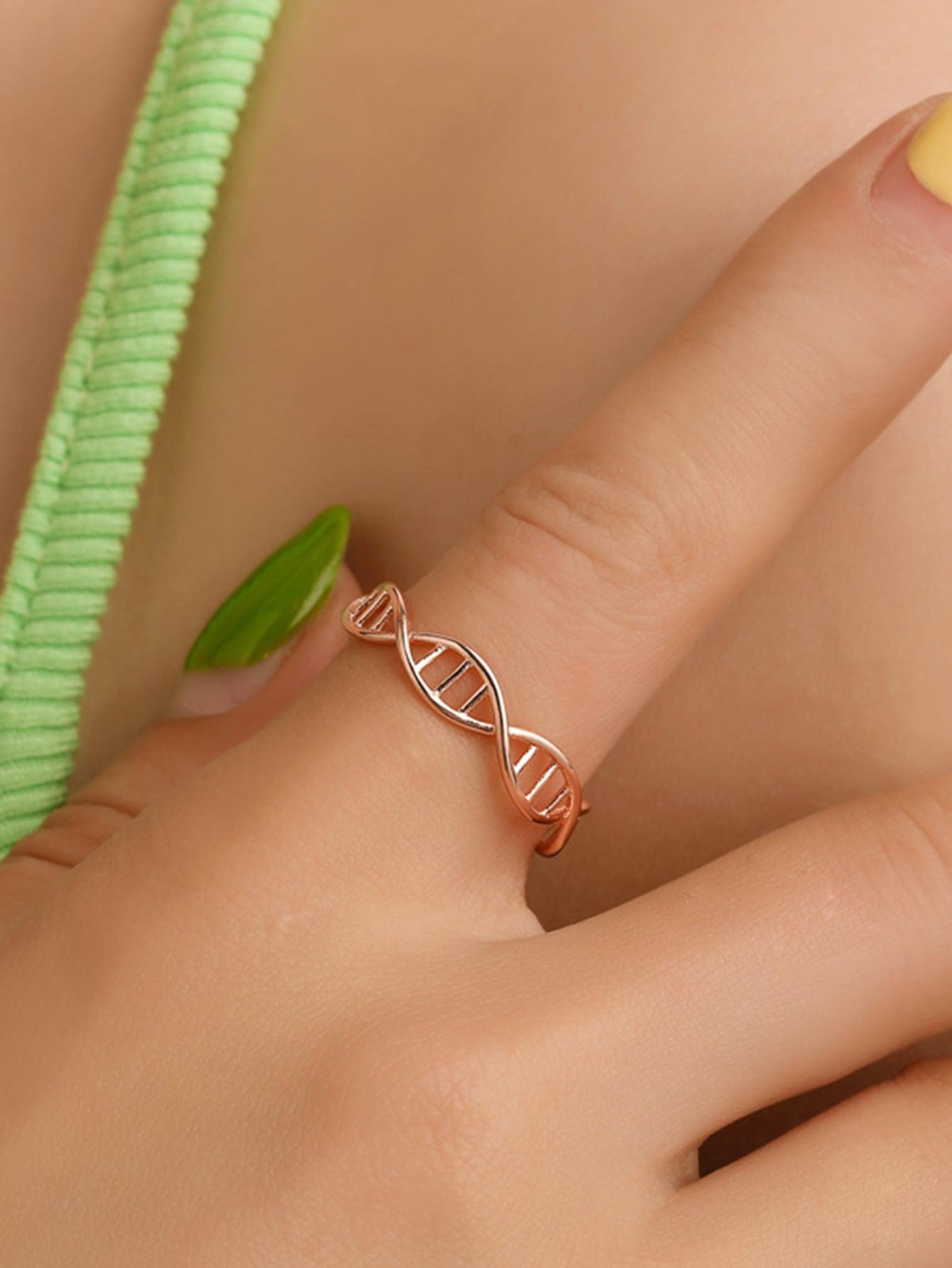 DNA Shaped Ring 1pc thumbnail