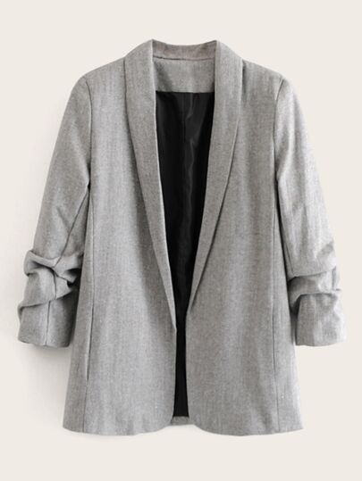 Shawl Collar Space Dye Blazer