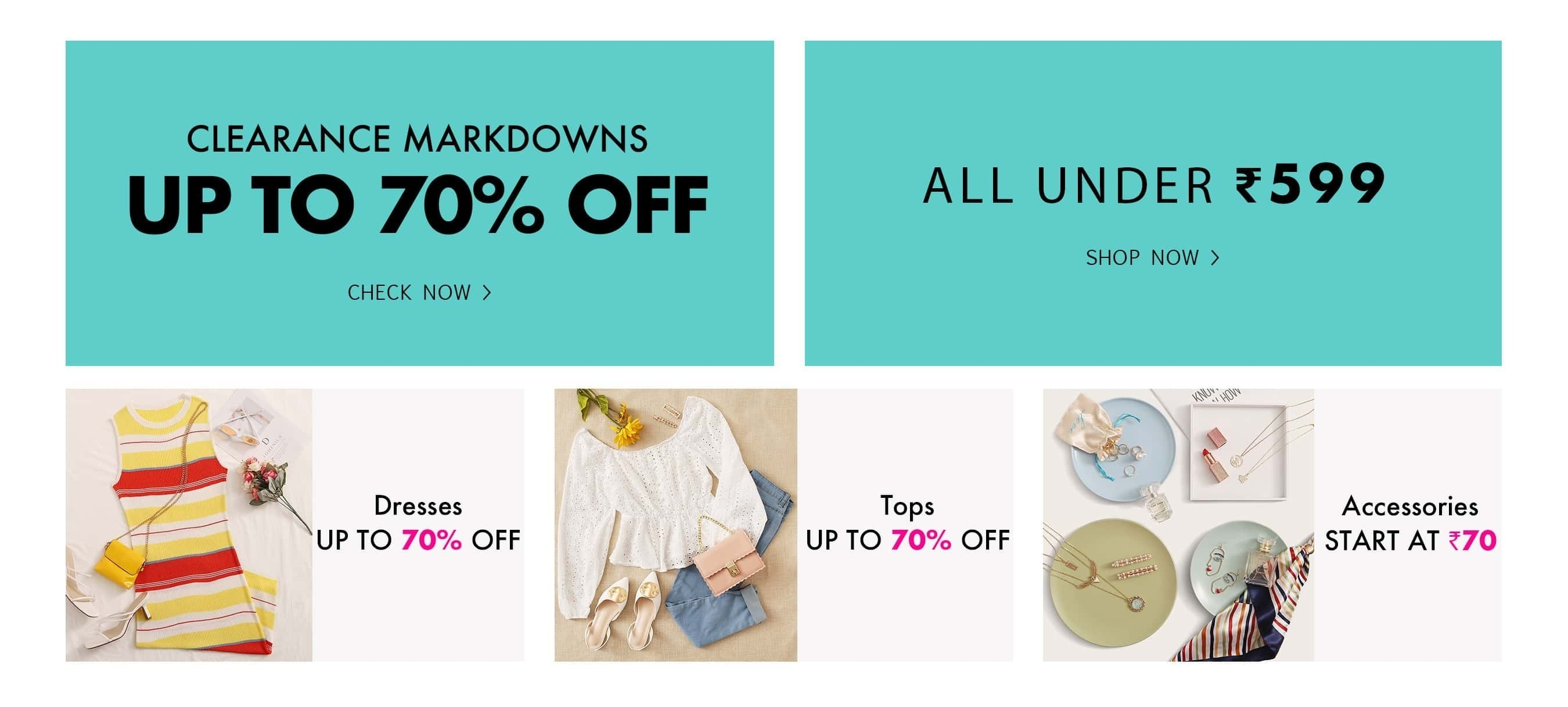 Shop Women's Clothing, Shoes, Bags & more online | SHEIN IN