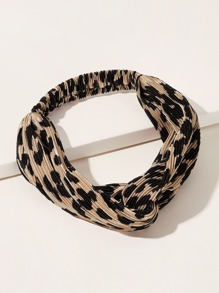 Leopard Pattern Headband