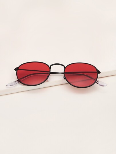 Men Tinted Lens Sunglasses