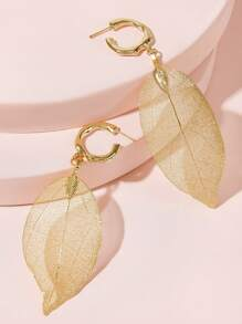Leaf Drop Earrings 1pair