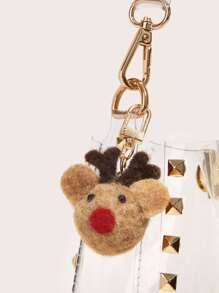 Deer Decor Bag Charm