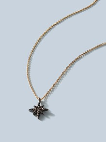 Star Charm Necklace 1pc