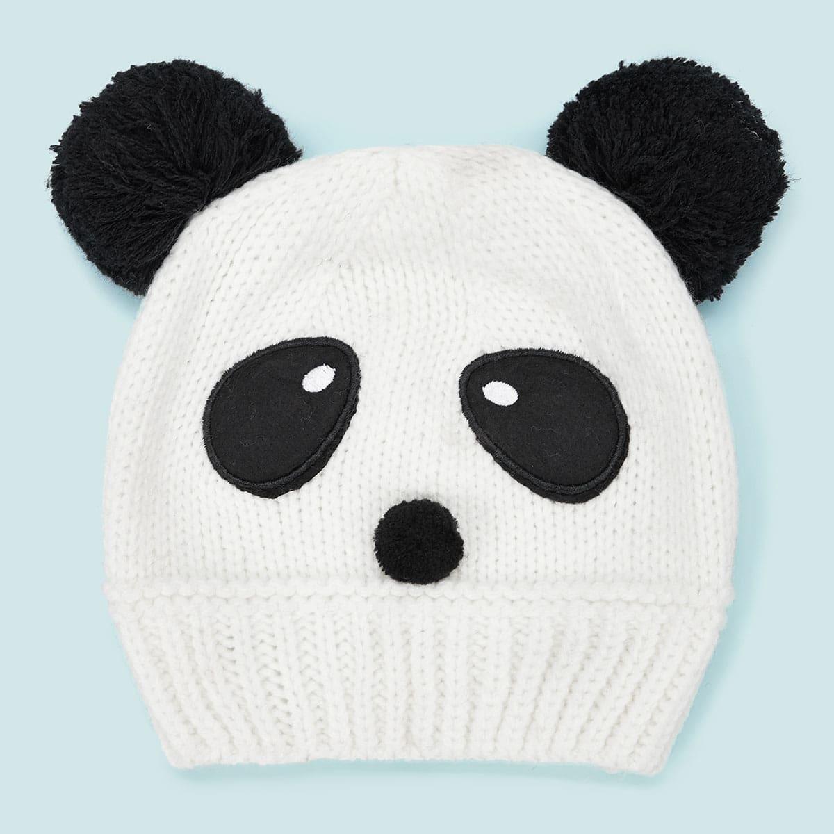 Детская шапочка в форме панды от SHEIN
