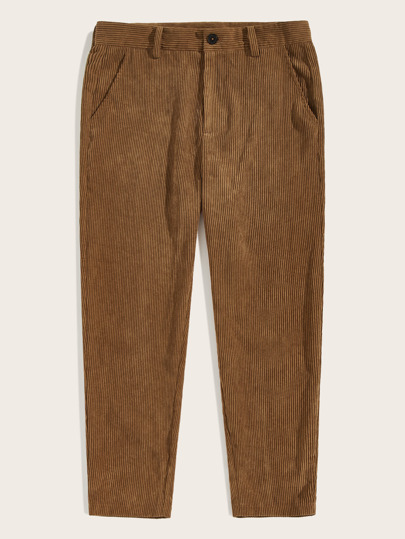 Guys Corduroy Tapered Pants