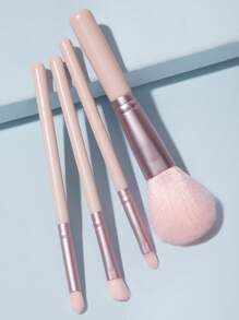 4pcs Solid Makeup Brush Set