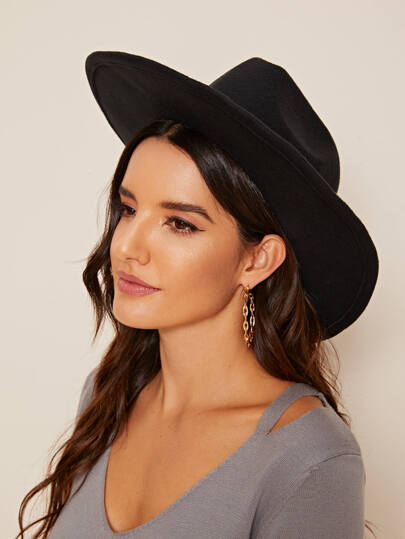 Band Decor Cowboy Floppy Hat