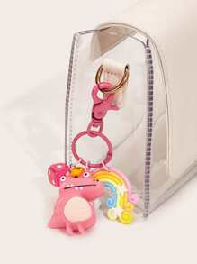 Dinosaur & Rainbow Bag Accessory 1pc